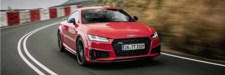 Audi TT : léger restylage et version anniversaire
