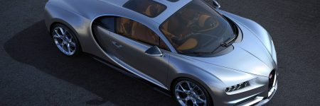 Bugatti Chiron : un double toit vitré en option