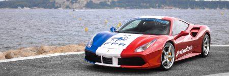 Ferrari 488 : une livrée deux étoiles pour célébrer la victoire des Bleus