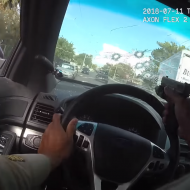USA : violente course-poursuite avec des tirs du policier à travers son pare-brise (vidéo)
