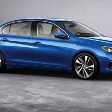Peugeot 408 : la version restylée se montre pour la Chine