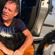 Canicule : Rémi Gaillard déguisé en chien s'enferme dans une voiture (vidéo)