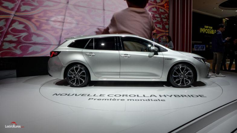 Toyota Corolla Hybrid >> Toyota Corolla : le duo hybride du Mondial de l'Auto | Les ...