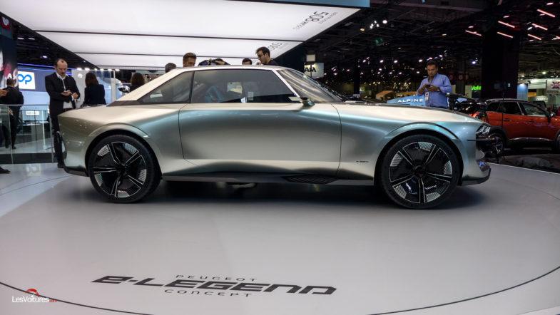 Peugeot E Legend Concept Imagine En Version Bandama Les Voitures