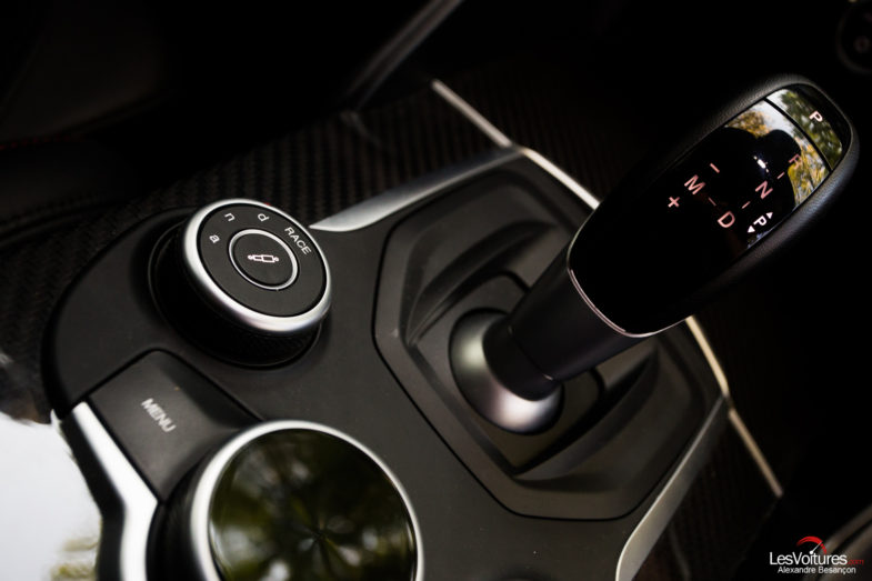 alfa romeo giulia quadrifoglio balade automnale les voitures. Black Bedroom Furniture Sets. Home Design Ideas