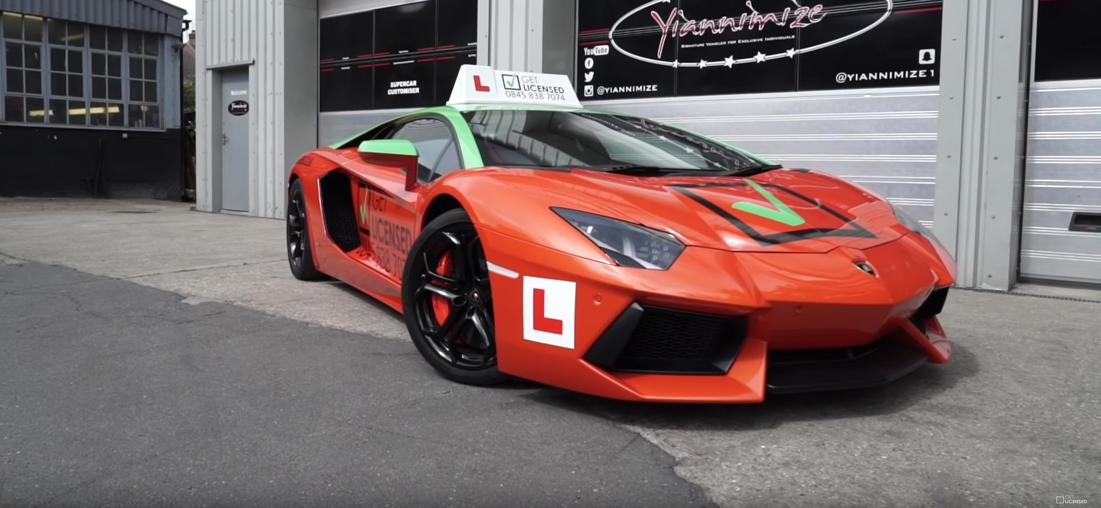 Lamborghini Aventador Voici La Supercar Auto Ecole Les Voitures