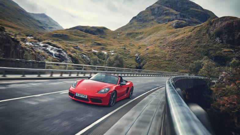 Porsche 718 T : nouvelle version pour les Boxster et Cayman