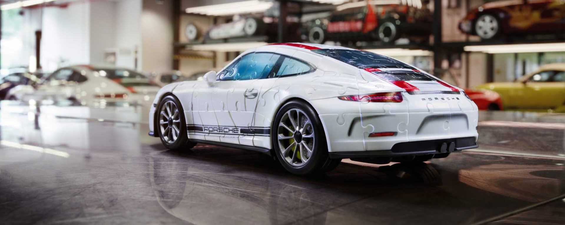 porsche 911 r disponible en puzzle 3d les voitures. Black Bedroom Furniture Sets. Home Design Ideas