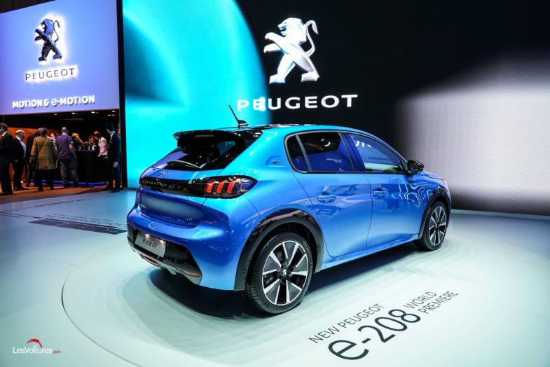 tarifs Peugeot 208