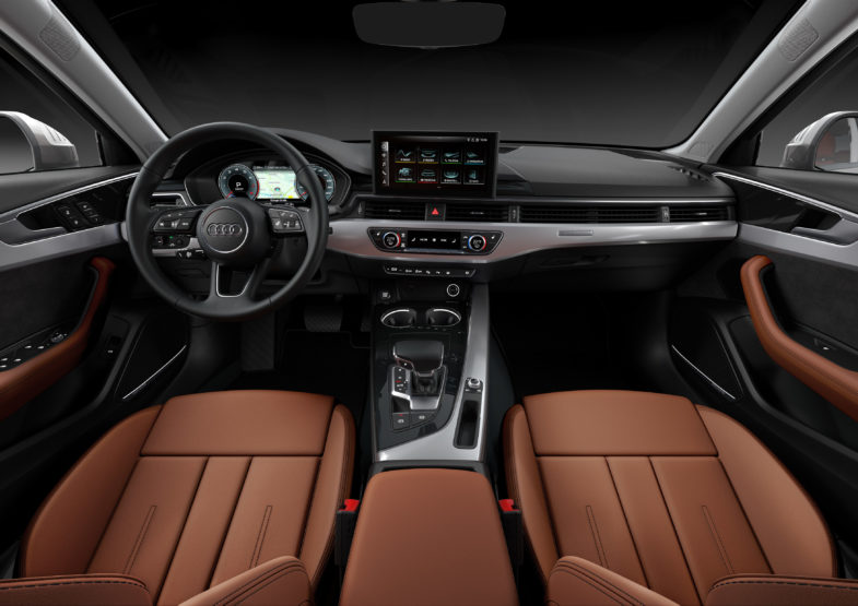 Audi A4 MMI touch