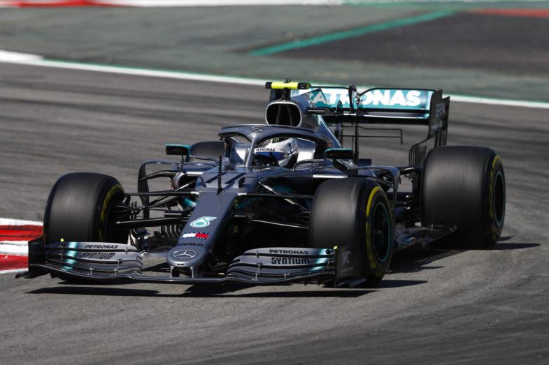 GP d'Espagne Mercedes