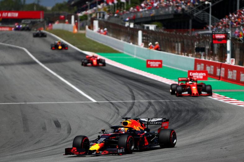 GP d'Espagne Red Bull