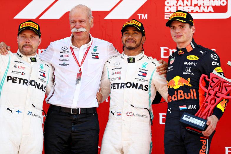GP d'Espagne podium