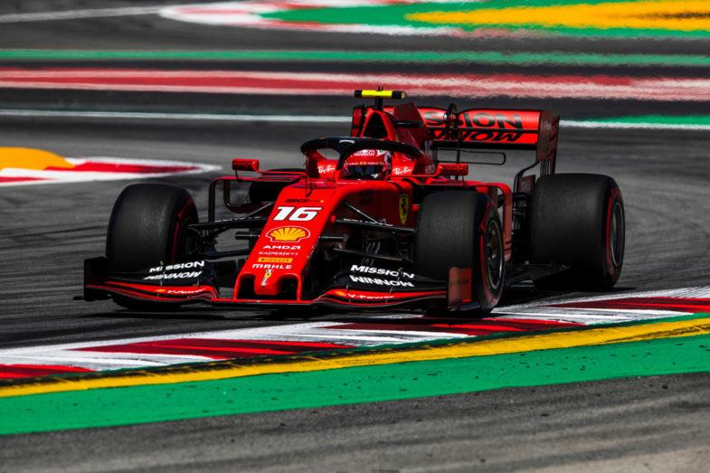GP d'Espagne Ferrari