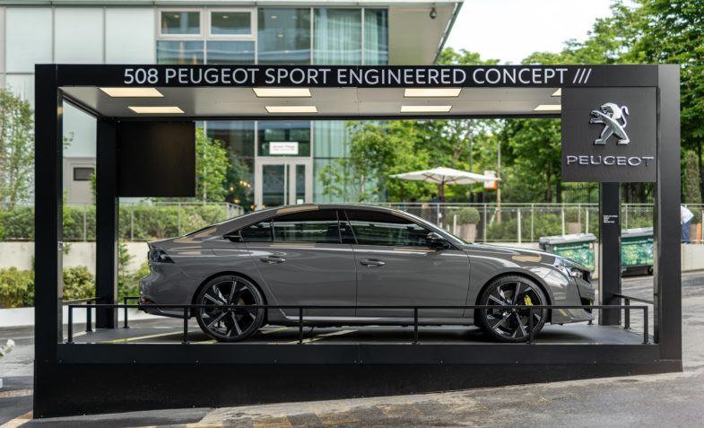 2019 - [PEUGEOT] Concept 508 Peugeot Sport Engineered - Page 17 Peugeot-e-208-508-Roland-Garros-2019-07188-785x477