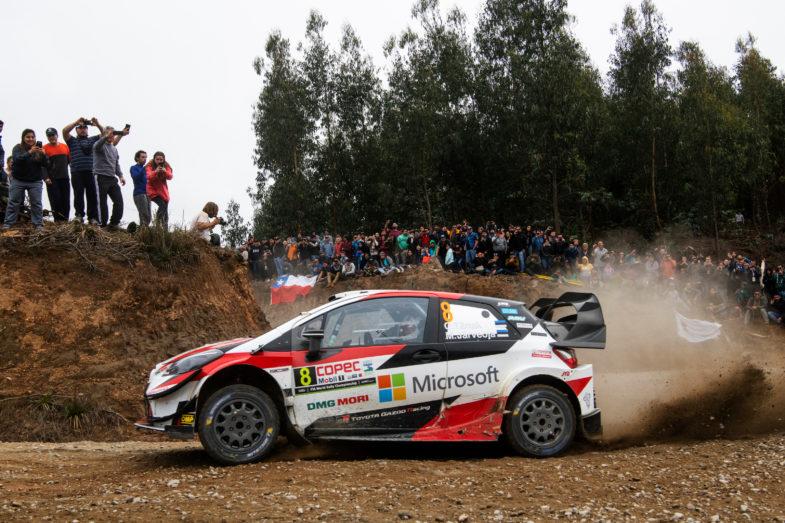 Rallye du Chili Toyota