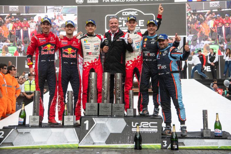 Rallye du Chili 2019 podium
