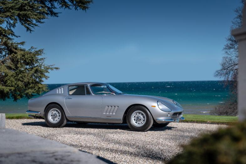 177d9633c9236 ... Slavic fait restaurer, dans les moindres détails, ce bijou à quatre  roues par Autofficina Carlo Bonini. La 275 GTB au numéro de châssis #7555  récupère ...