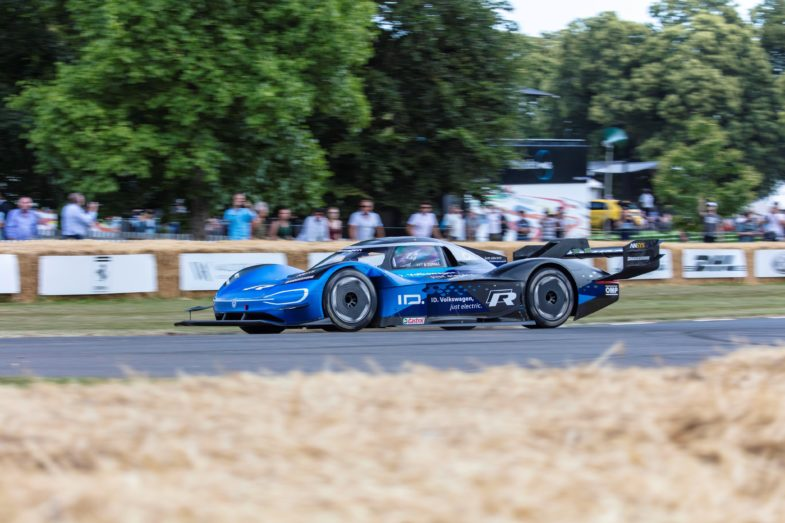 FOS Goodwood : le record de la Formule 1 d' Heidfeld battu
