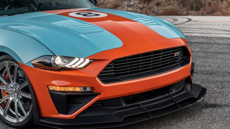 Ford Mustang Gulf Heritage