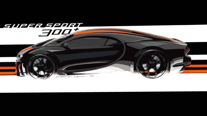 Bugatti Chiron Sport 300+