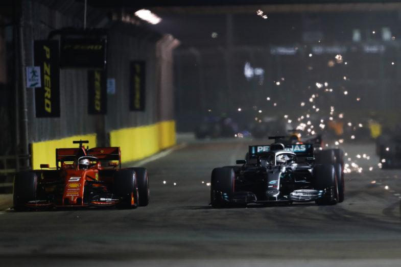GP de Singapour Vettel