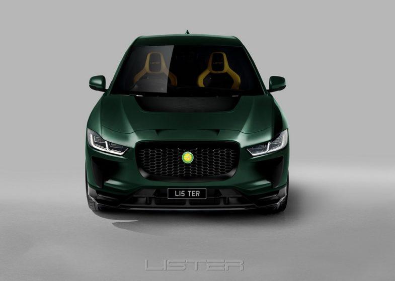 Lister SUV-E concept
