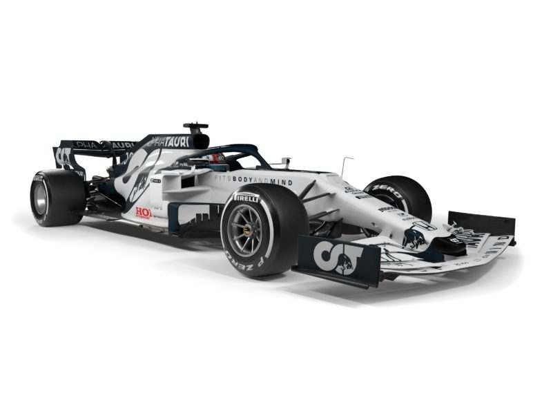 Formule 1 : Alpha Tauri dévoile sa première monoplace l'AT01 - F1