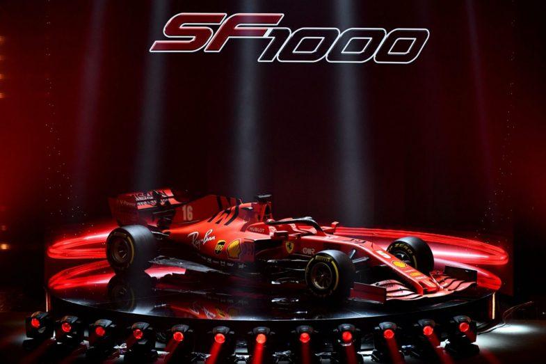 Ferrari présente sa nouvelle SF1000 - Fil Info - Formule 1 - Auto/Moto