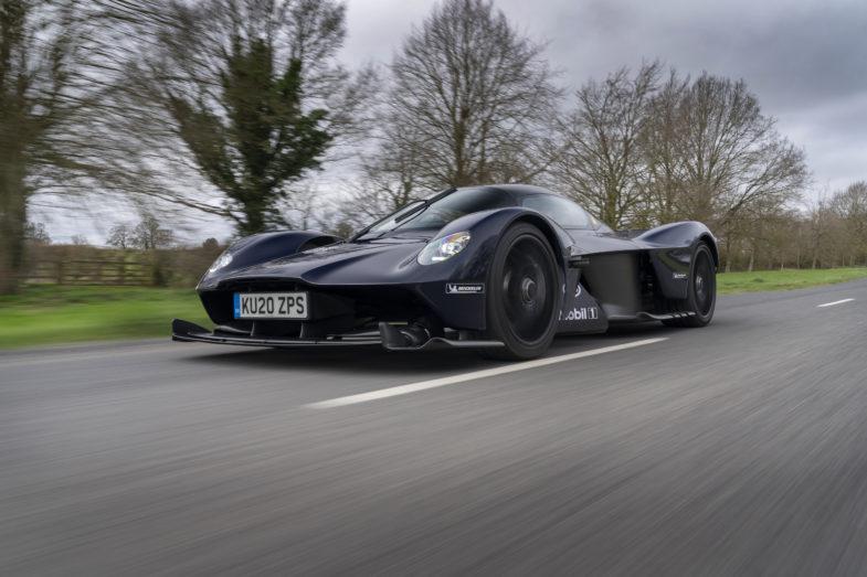 Hypercar Valkyrie Aston Martin