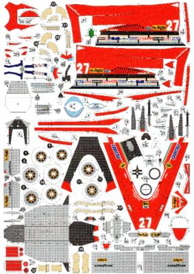 Ferrari 126C2 G.Villeneuve USA West GP 1982 1-25