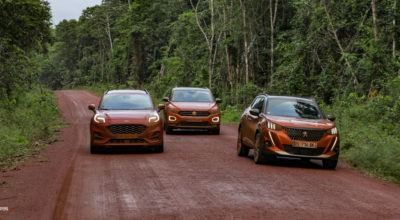 Road Trip : les Peugeot 2008, Ford Puma et Volkswagen T-Roc au coeur de la Guyane