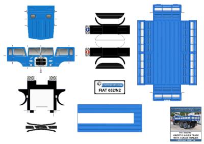 Maquette-papier-automobile-Fiat-682-N2