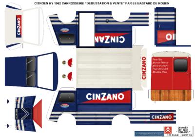 Maquette-papier-automobile-HY-Cinzano