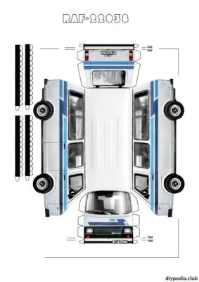 Maquette-papier-automobile-raf