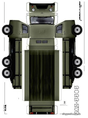 Maquette-papier-automobile-uaz-3303-a