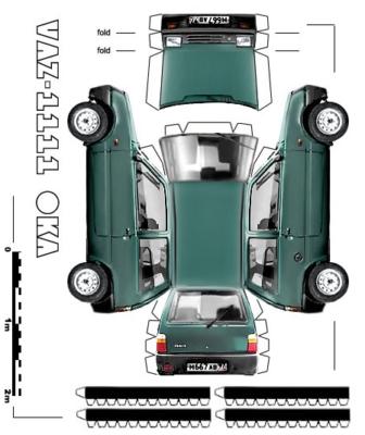 Maquette-papier-automobile-vaz-1111-2