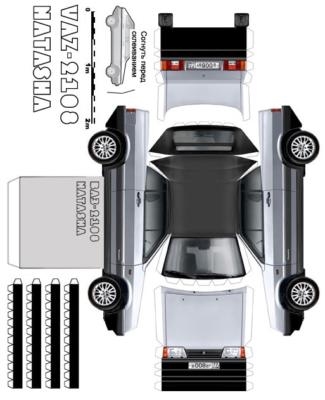 Maquette-papier-automobile-vaz-2108