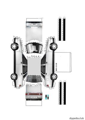 Maquette-papier-automobile-vaz-2110-2