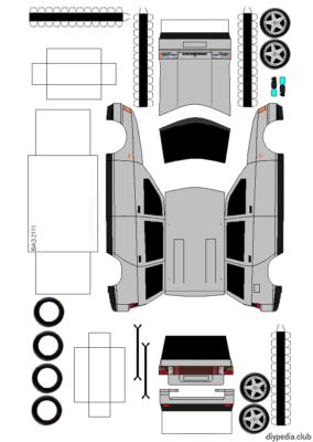 Maquette-papier-automobile-vaz-2111
