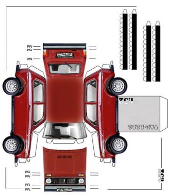 Maquette-papier-automobile-vaz-2121