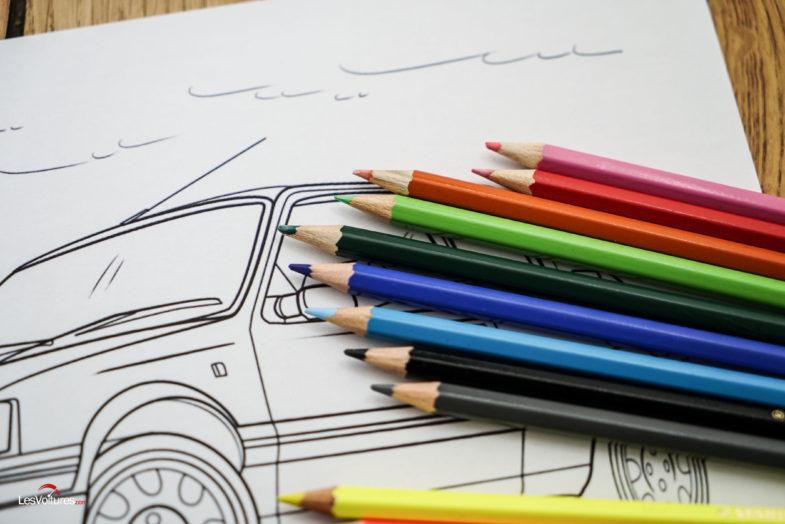 Voitures A Colorier Plus De 170 Modeles A Imprimer Les Voitures