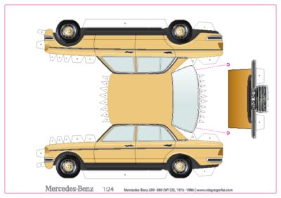 maquette papier MB W123_A4_1-24