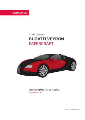 maquette-papier_Bugatti_Veyron_templates