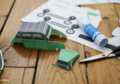 voiture en papier