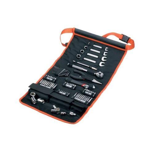BLACK & DECKER Sacoche enroulable avec 76 accessoires de mécanique automobile