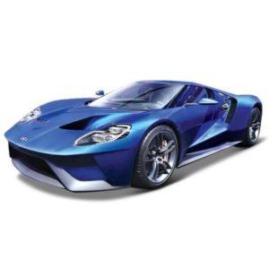 Burago voiture ford gt bleue echelle 1 18 bburago