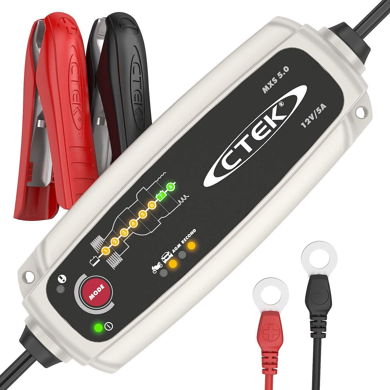 CTEK MXS 5.0 Chargeur de Batterie Automatique