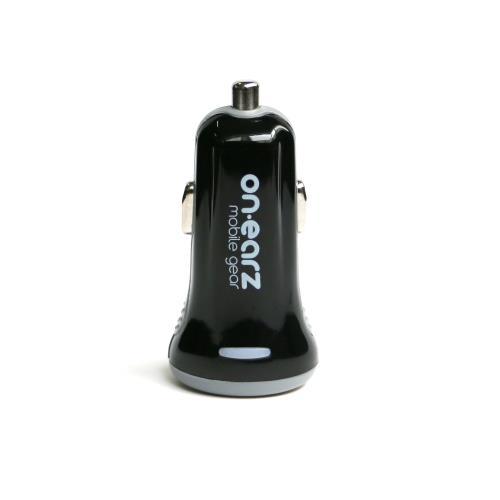 Chargeur allume-cigare On.Earz Double USB Noir