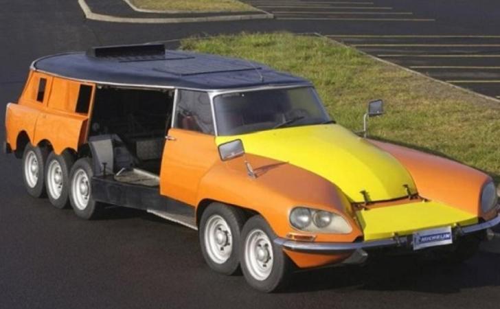 Citroën : deux des modèles les plus « fous » de l'histoire ! Par Frédéric Lagadec  Citroen-DS-Mille-Pattes-PLR-Break-Michelin